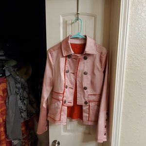 Adorable retro Jean jacket